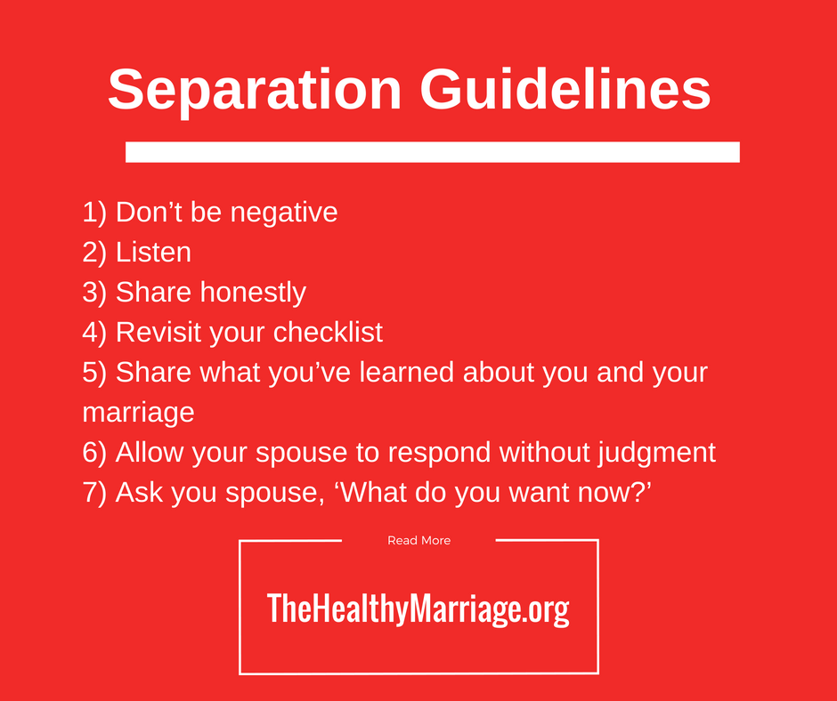 separation guidelines