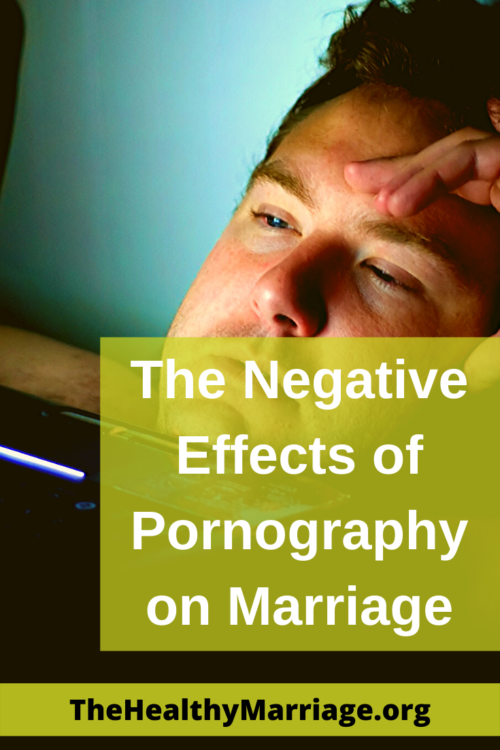 the negative effects of pornography on a marriage pinterest pin