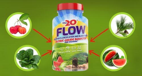 20 Flow Supplement for nitric oxide sexual health