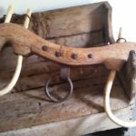 An oxen yoke used to pull a plow