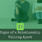 Couple who is discouraged because their relationship is showing signs of falling apart