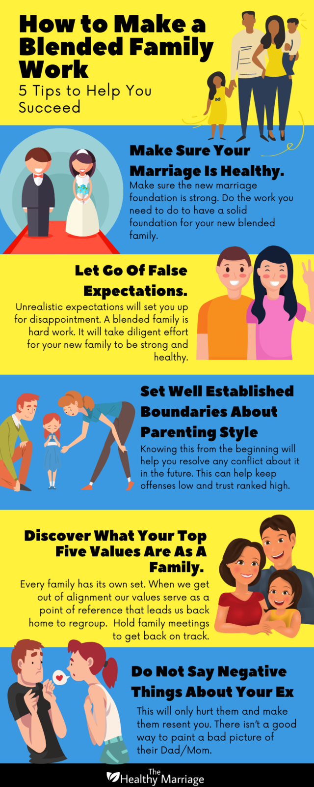 5 Tips To Make A Blended Family Work