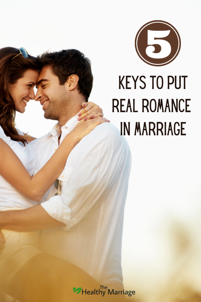 5 keys to put real romance in marriage Pin 1