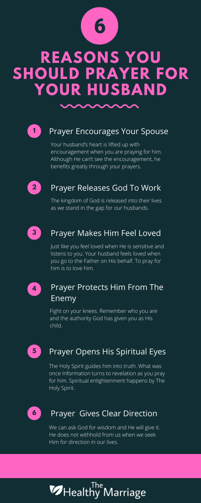 6 Reasons You Should Pray For Your Husband