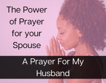 A Prayer For My Husband