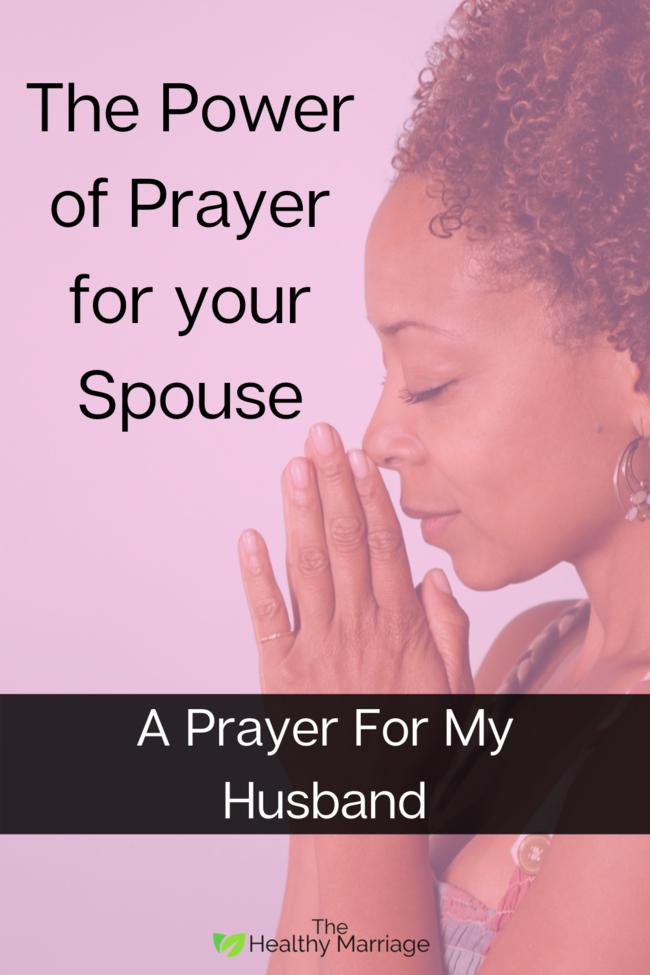 A Prayer For My Husband Pin