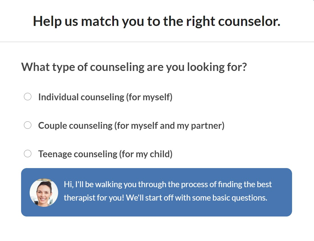 Click here to find a counselor