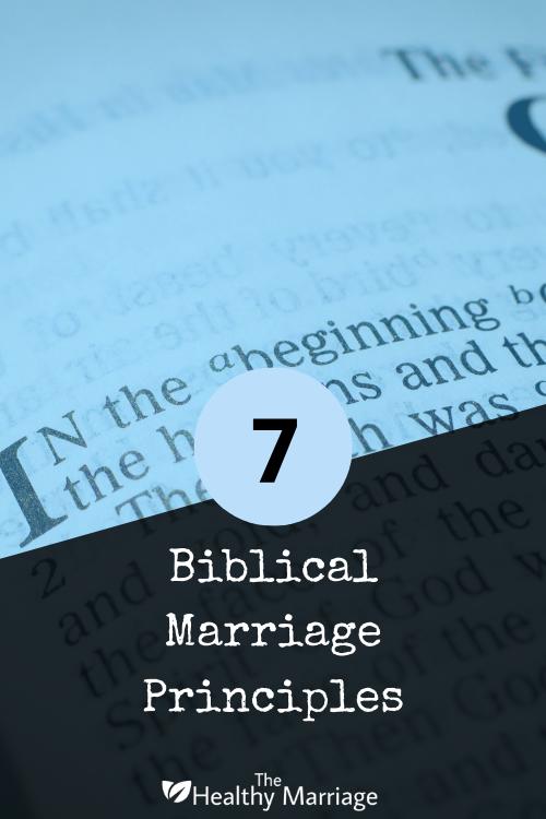 Biblical Marriage Principles - Pin