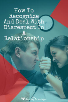 disrespect in marriage is a common problem