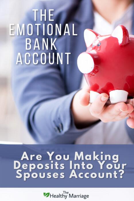 Emotional Bank Account Pinterest Pin