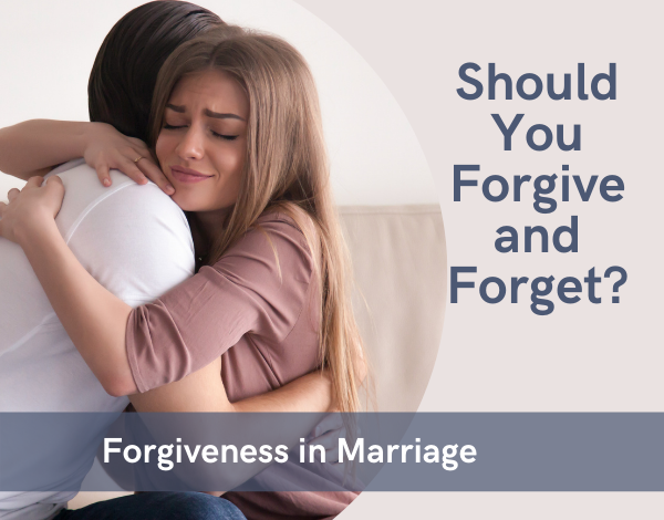 Couple hugging on a couch expressing forgiveness in marriage