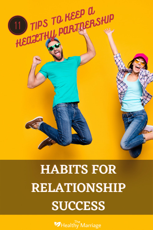 Habits for Relationship Success Pinterest Pin