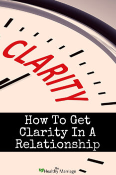 Marriage clarity