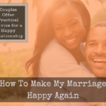 Happy couple hugging - how to be happy in marriage