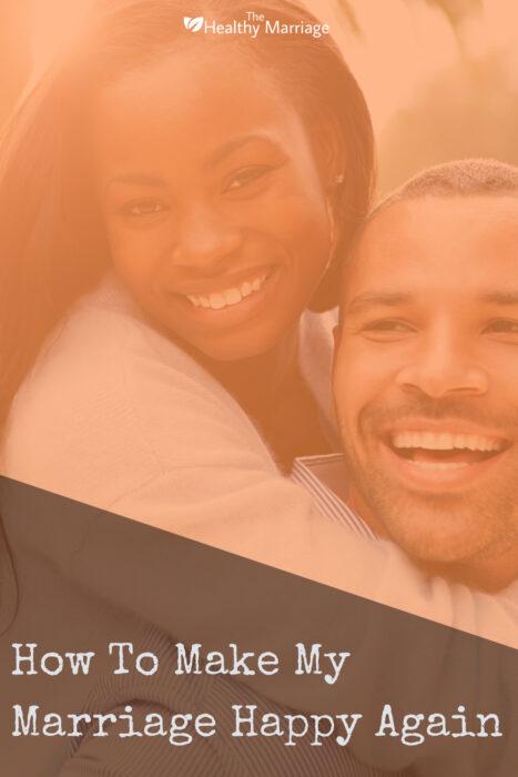 11 keys to make marriage happy again
