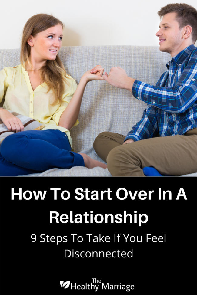 How To Start Over In A Relationship Pin