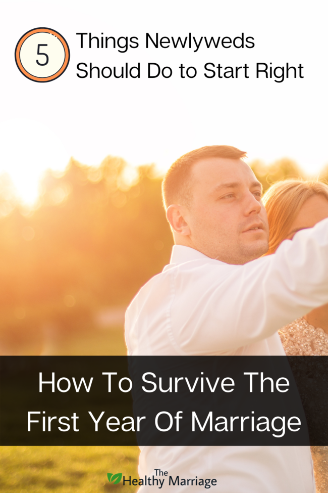 How to survive the first year of marriage Pin 1