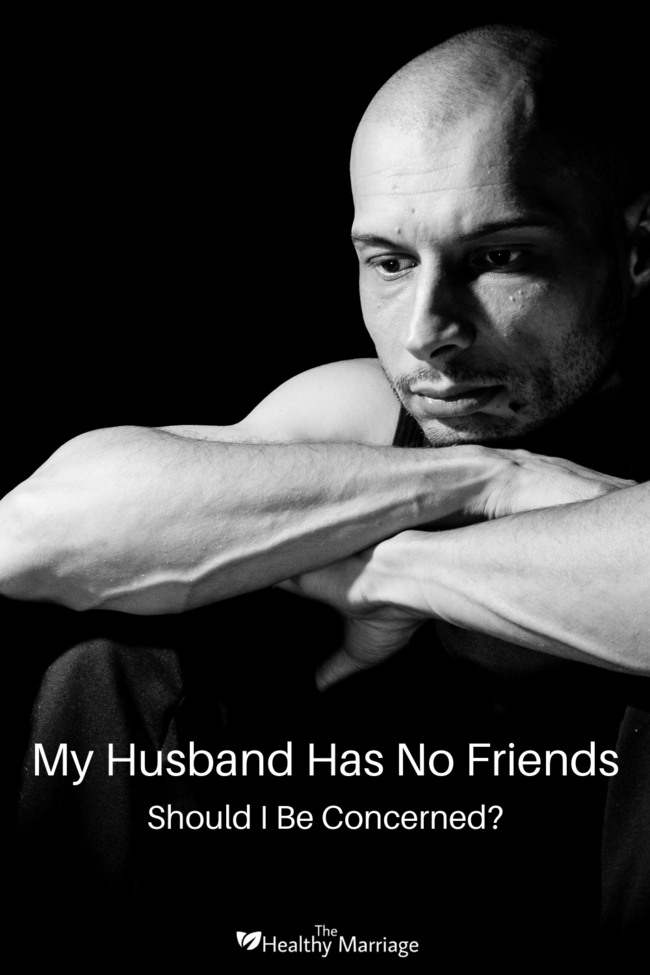 Husband Has No Friends Pin