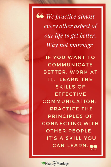 Learn the skills of effective communication.  Practice the principles of connecting with other people.  It's a skill you can learn.
