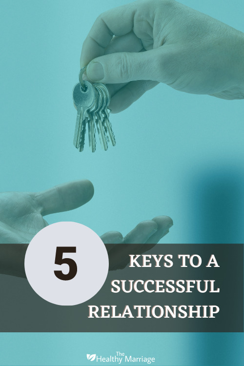 5 Keys to a successful relationship Pinterest Pin