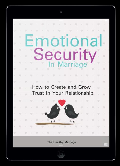 Emotional Security in Marriage eBook