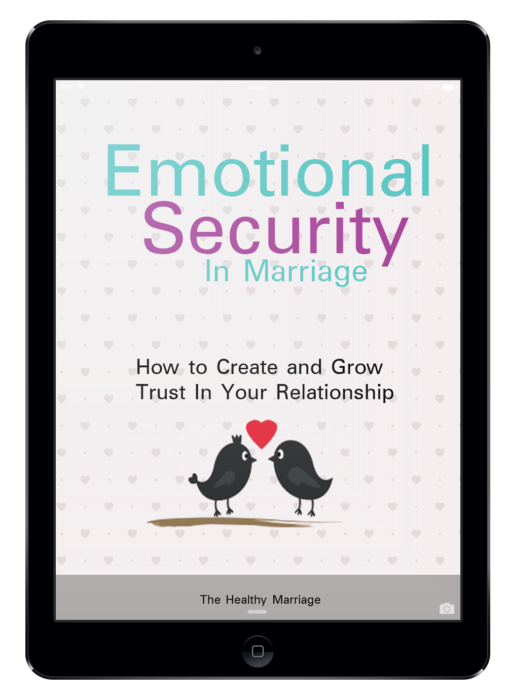 Emotional Security in Marriage eBook