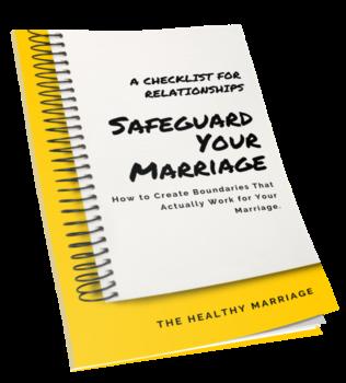 Sageguard Your Marriage Checklist
