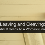 Leaving and Cleaving
