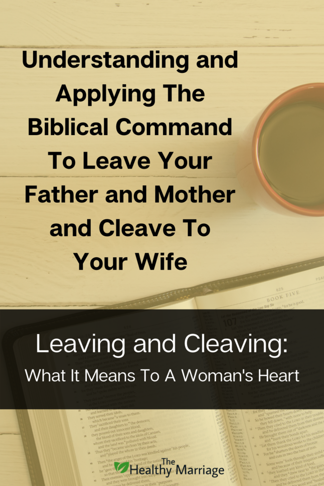 Leaving and Cleaving Pin