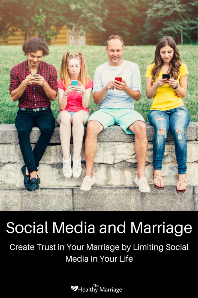 Social Media and Marriage Pin