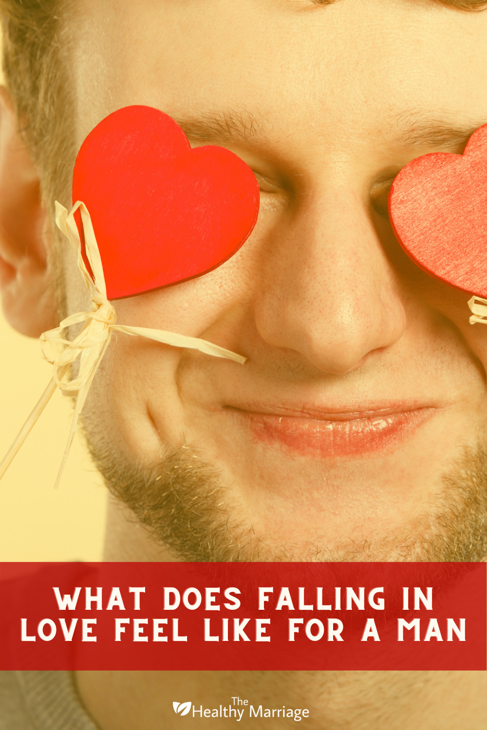 What Does Falling In Love Feel Like For A Man Pinterest Pin