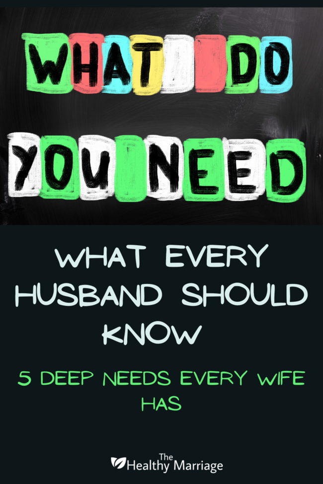 What Every Husband Should Know Pin