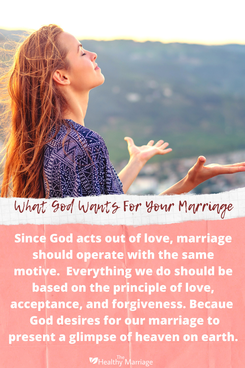 What does God want in a marriage?