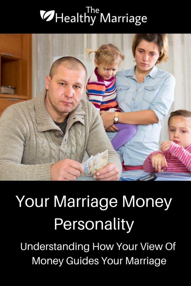Your Marriage Money Personality Pin