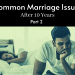 couple on the bed frustrated