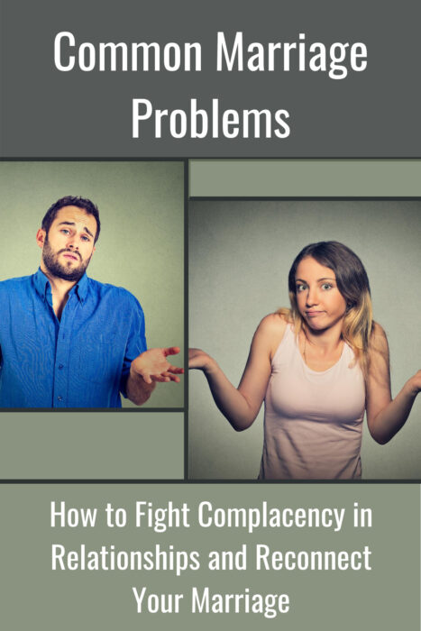 couple raising hands in a complacent gesture