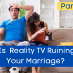 couple watching reality tv show