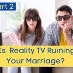 couple watching reality tv