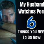 man watching pornography