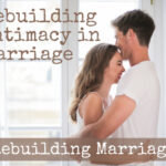 Couple hugging to rebuild intimacy in marriage