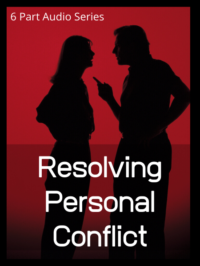 resolving personal conflicts audio series