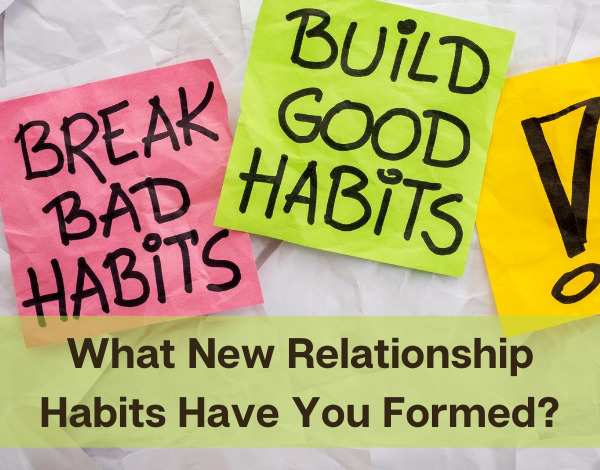sticky notes with message to build good habits